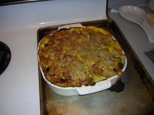 Broccoli and Potato Hot Dish